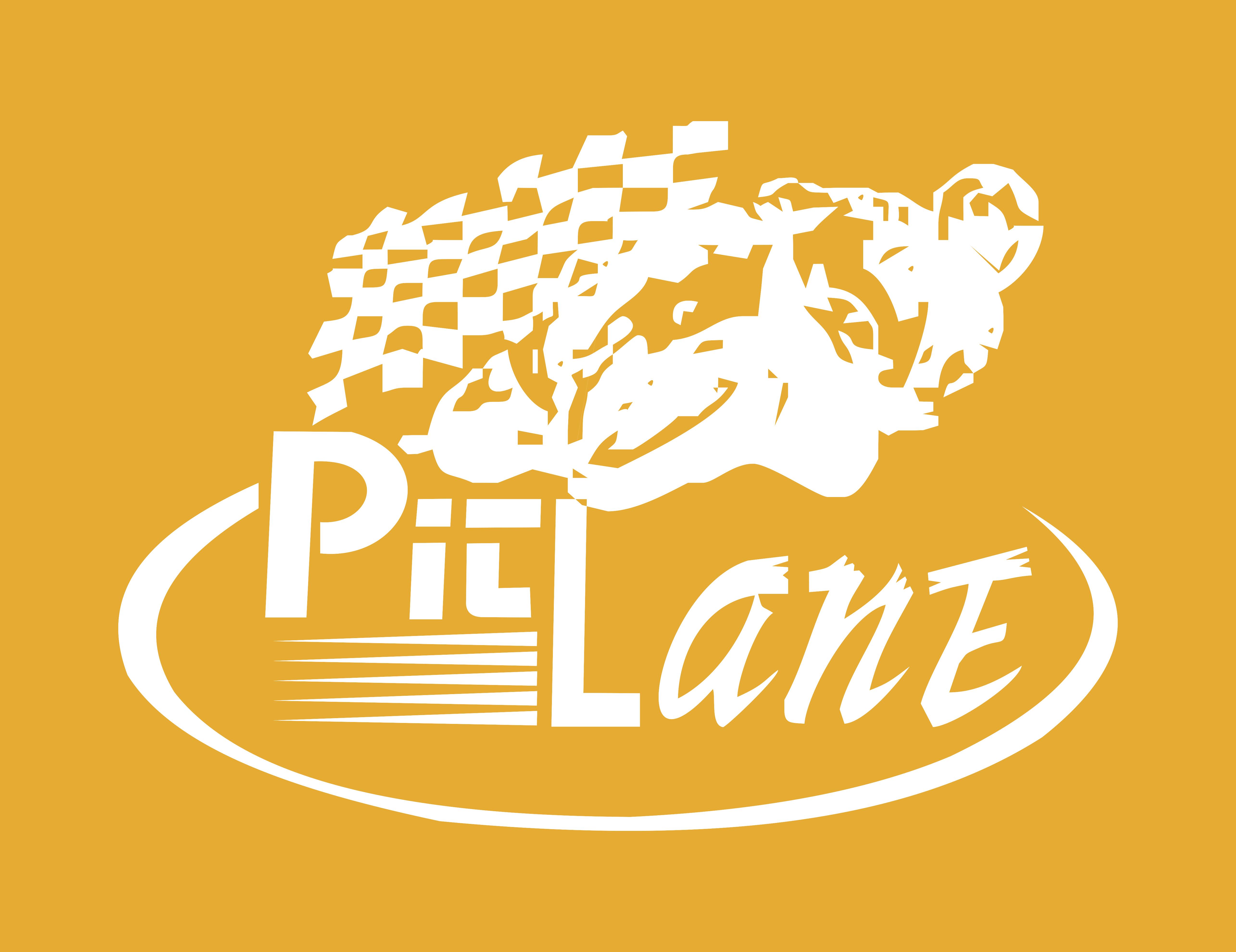 Pit Lane Navaluenga logo amarillo